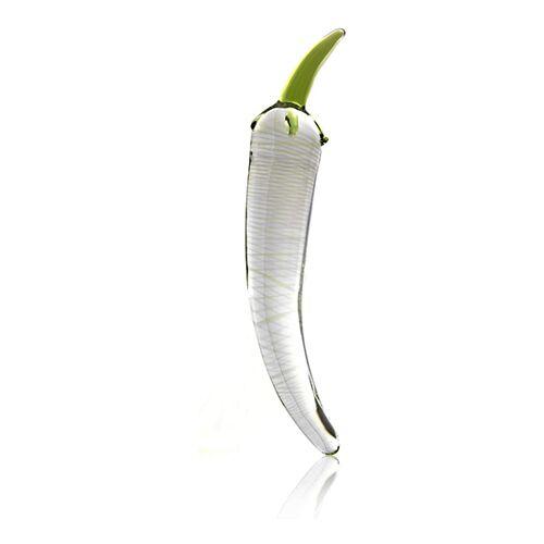 Lumunu Deluxe Glas Butt Plug hot pepper