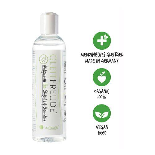 Lumunu Deluxe Gleitfreude Bio Gleitgel auf Wasserbasis (250 ml)