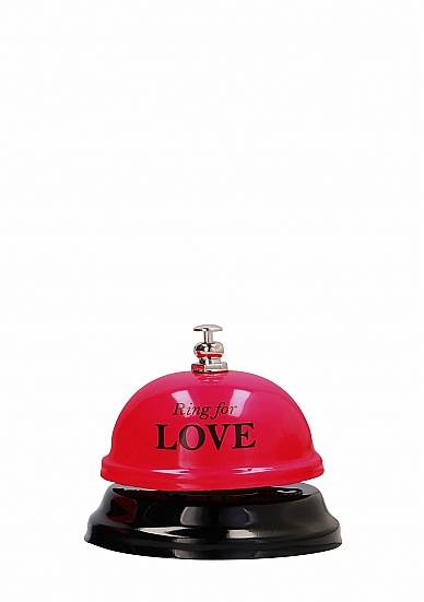 Shots Toys Ring for Love - Hotel Bell (Red)