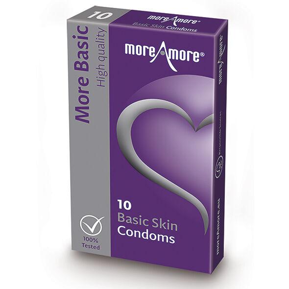 More Amore MoreAmore - Condom Basic Skin (10pcs)