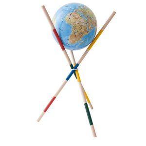 Columbus Interaktiver Kinderglobus COLUMBUS Mikado Globus Unsere Erde Ø 34 cm, beleuch...