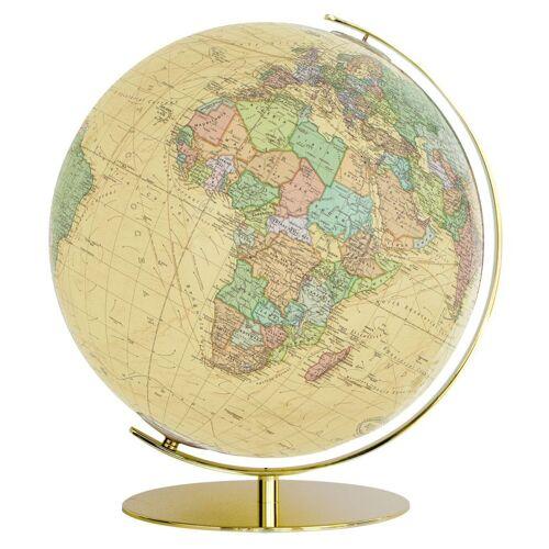 Columbus 224071 Royal Leuchtglobus Messing gold Durchmesser 40 cm Globus Anti...
