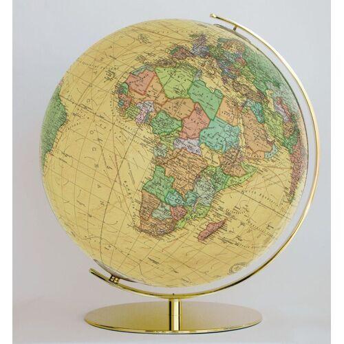 Columbus 224071 Royal Leuchtglobus Messing Durchmesser 40 cm Globus Antik Wel...