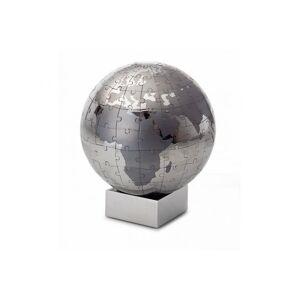 Philippi EXTRAVAGANZA XL Puzzle Globus 12cm Edelstahl verchromt magnetisch Ti...
