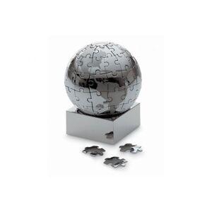 Philippi EXTRAVAGANZA XL Puzzle Globus 8cm Edelstahl verchromt magnetisch Tis...