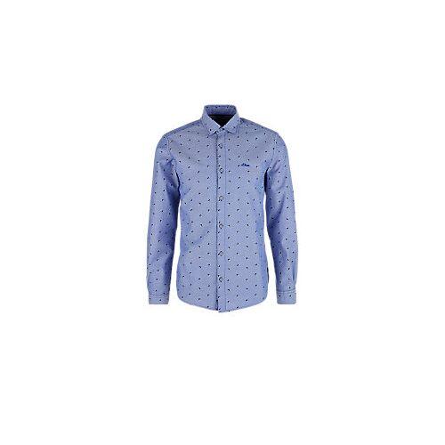 s.Oliver Dobby-Hemd Blau M