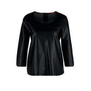 s.Oliver Fake Leather-Bluse