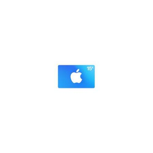 iTunes App Store & iTunes Code 15 €
