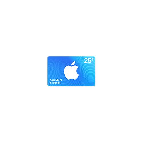 iTunes App Store & iTunes Code 25 €