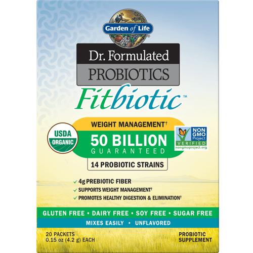 Garden of Life Mikrobiome Fitbiotisches Pulver - Geschmacksneutral (Packung von 20)