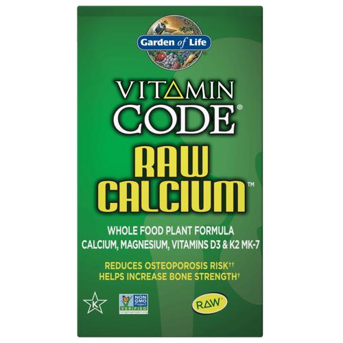 Garden of Life Vitamin Code Raw Kalzium - 60 Kapseln