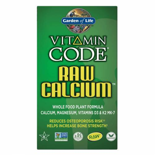 Garden of Life Vitamin Code Raw Kalzium - 120 Kapseln