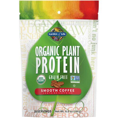 Garden of Life Bio-Pflanzenprotein - Kaffee - 244 g