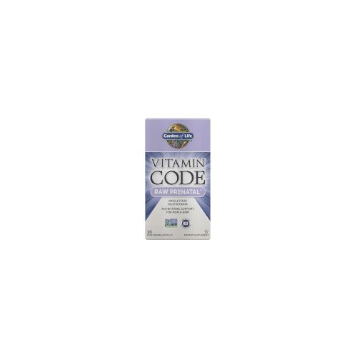 Garden of Life Vitamin Code Raw Pränatal 30ct-Kapseln
