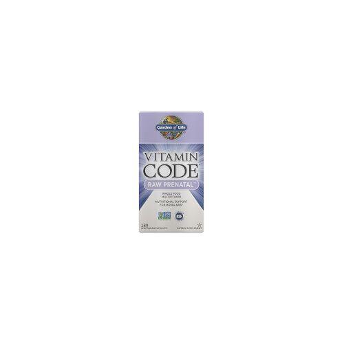 Garden of Life Vitamin Code Raw Pränatal - 180 Kapseln