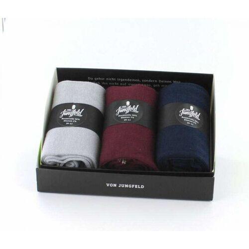 von Jungfeld Box II 3er Socken (Größe: L)