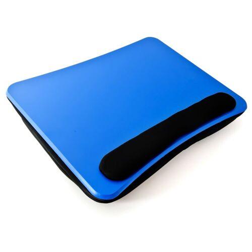 relaxdays Laptop Tablett »Laptopkissen mit Handauflage Blau«, Kunststoff