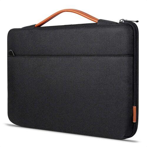 Inateck Laptoptasche »Laptoptasche 14 Zoll für die meisten 14 Zoll Laptops und 15 Zoll MacBook Pro 2016-2019«, Schwarz