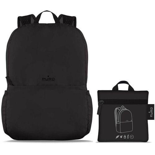 Puro Rucksack »Backpack Tender Faltbarer Rucksack Falt-Rucksack Sport Outdoor Camping«, sehr leicht, Black