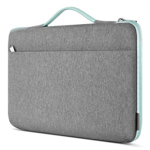 Inateck Laptoptasche »Laptoptasche 14 Zoll für die meisten 14 Zoll Laptops und 15 Zoll MacBook Pro 2016-2019«, Mintgrün