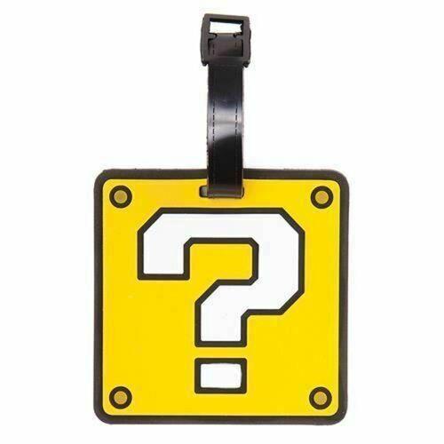 Nintendo Kofferanhänger »Question Block Kofferanhänger Neu«