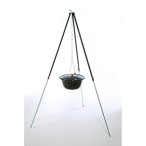 acerto® Feuerstelle »Gulaschkessel 22 Liter + Dreibein 180cm«