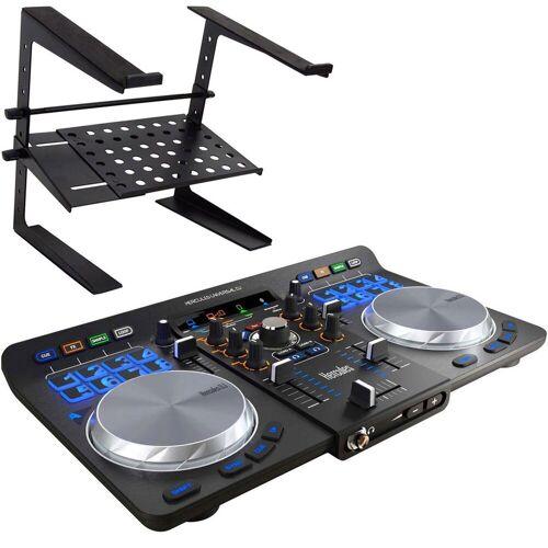 Hercules Mischpult »Universal DJ Controller + Laptopständer«