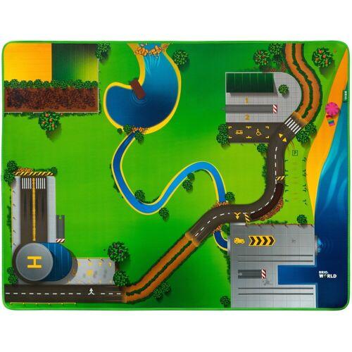 Brio Spielzeugeisenbahn-Erweiterung »Eisenbahn-Spielmatte«, für die Brio Eisenbahn; FSC® - schützt Wald - weltweit