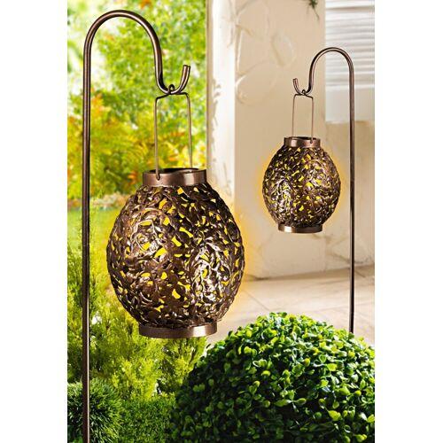 dynamic24 Gartenleuchte »Solar Laterne mit Stab«, Solarleuchte Solarlaterne Garten Outdoor Lampe Solar Leuchte
