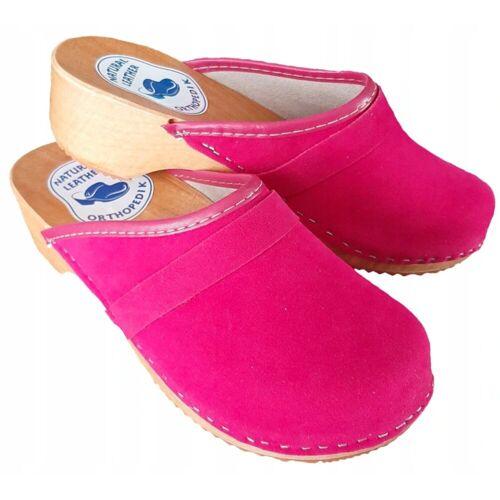 Cloque »Clogs geschlossen rosa/rot« Clog, rosa
