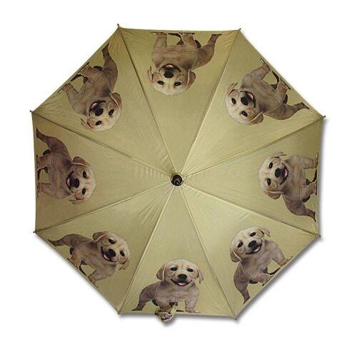 Mars & More Stockregenschirm »Regenschirm creme-farbener Labrador«