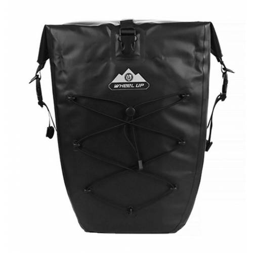 WHEEL UP Fahrradtasche »Pack- Gepäckträgertasche Fahrradtasche 100% Wasserdicht 20/25L, schwarz«