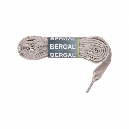 Bergal Schnürsenkel »Samtsenkel Flach ca. 15 mm breit«, Grau