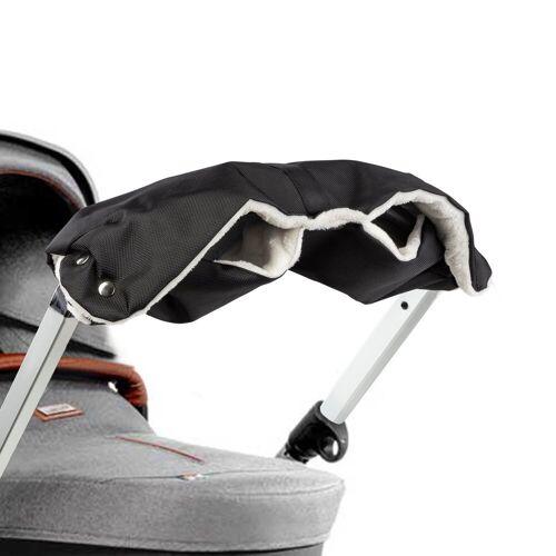 ONVAYA Kinderwagen-Handwärmer »Kinderwagenmuff, Kinderwagen Handwärmer in grau oder Schwarz, Warme Handschuhe für den Kinderwagen«, Schwarz