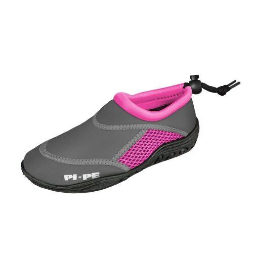 PI-PE »Badeschuh Active Aqua Shoes« Badeschuh, grau/pink