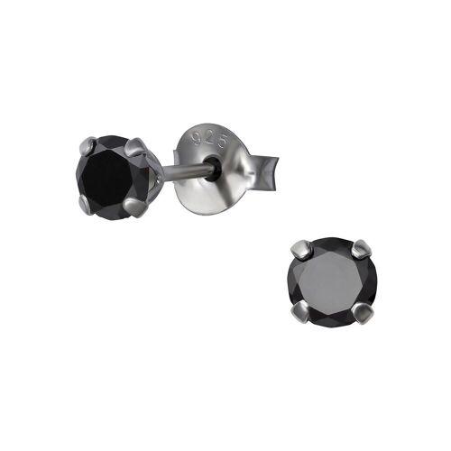 Monkimau Paar Ohrstecker »Kristall Ohrringe 925 Silber Damen Ohrstecker« (2 x Ohrstecker (1 Paar), mit Kristallen