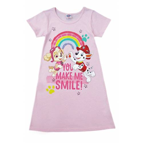 PAW PATROL Nachthemd »Mädchen Nachthemd Kurzarm rosa«