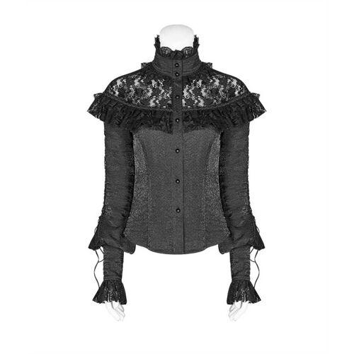 Punk Rave Rüschenbluse »Viktorianische Rüschen Bluse «