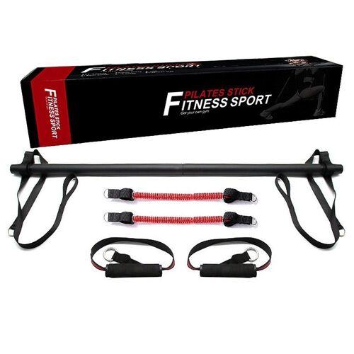 Technofit Ganzkörpertrainer »Pilates Stick, Fitness Stick, Ganzkörpertraining mit Widerstandsbändern, Fitness Training«