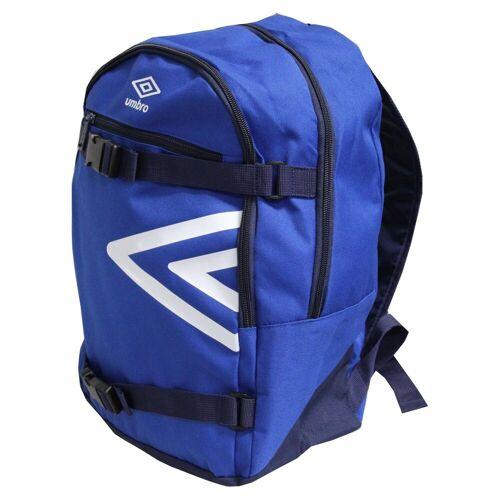 Umbro Sportrucksack, Rucksack Sport Reise Wandern Arbeit Backpack Schulrucksack Freizeit blau