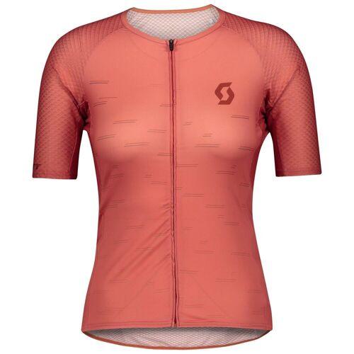 Scott Radtrikot »Fahrradshirt Damen RC Premium Climber s/sl«, rot