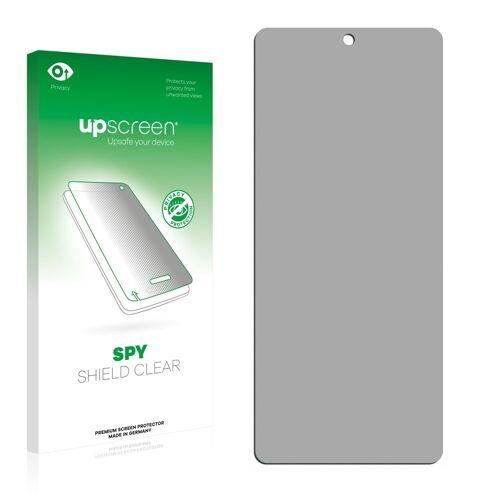 upscreen Schutzfolie »für Infinix Note 10 Pro«, Folie Schutzfolie Sichtschutz klar anti-spy