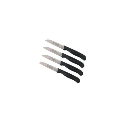 RÖR Messer »Schälmesser Küchenmesser gerade Gemüsemesser« (4 Stück)