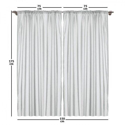 Abakuhaus Gardine »Vorhang für Wohnzimmer Schlafzimmer Dekor«, , Bohemien Muster