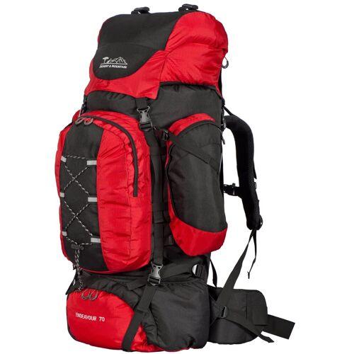 DESERT & MOUNTAIN Trekkingrucksack »Rucksack Wanderrucksack 70 Liter (Trekking Hiking)«