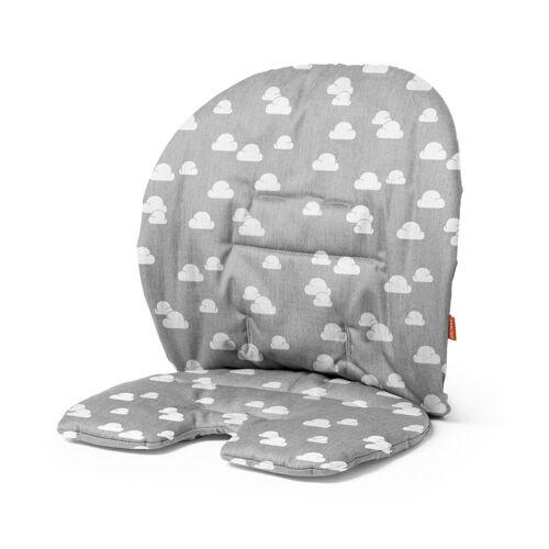 Stokke Hochstuhlauflage »Steps™ Kissen«, Steps Baby Set Kissen - Zubehör für Steps Stuhl - Hochstuhl-Kissen für Babysitz - Farbe: Grey Clouds, Grey Clouds