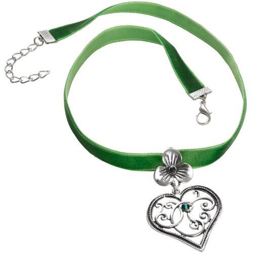 tectake Halsband »Halskette Bergkristall«, grün