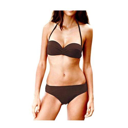 Heine Push-Up-Bikini »Damen Bikini, braun«