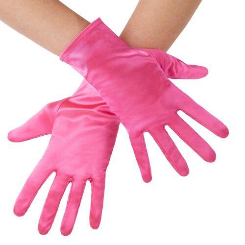 tectake Kostüm »Satin-Handschuhe«, pink