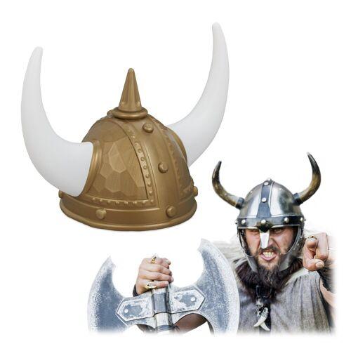 relaxdays Wikinger-Kostüm »Wikinger Helm«
